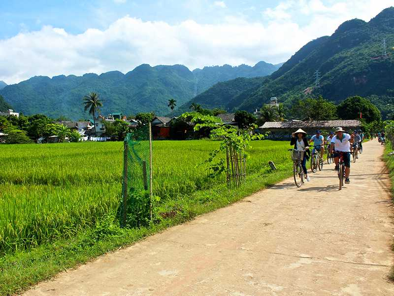 Hanoi - Mai Chau - Ninh Binh - Halong Bay - Package Tours 6 Days 5 Nights