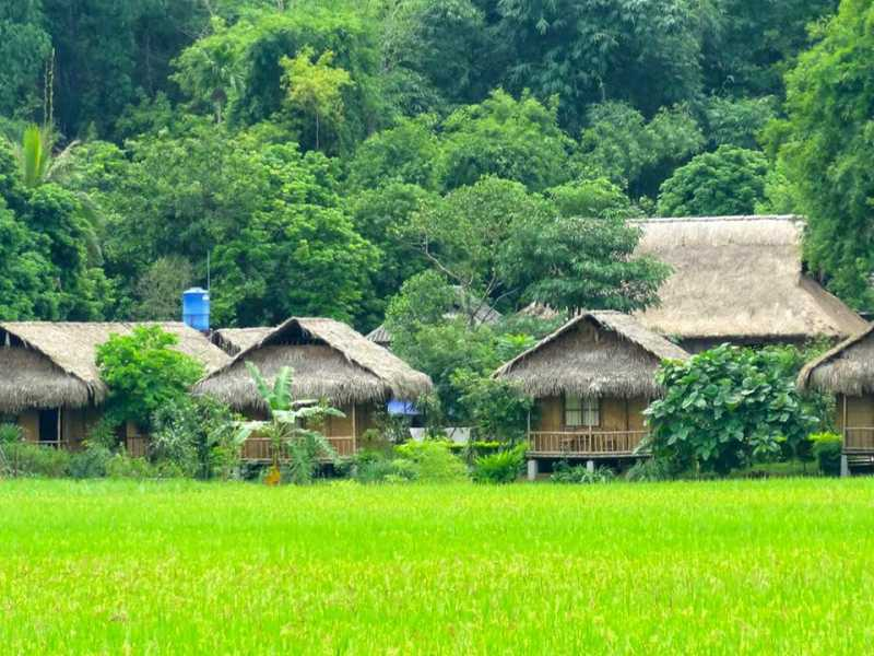 Hanoi - Mai Chau - Pu Luong - Hard Trek Tours 6 Days 5 Nights